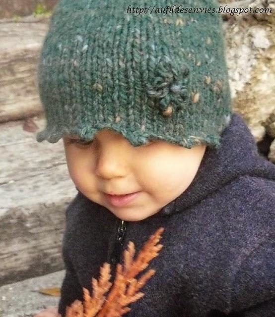 Wool Noggins Bonnet rapide et facile à tricoter en Muande