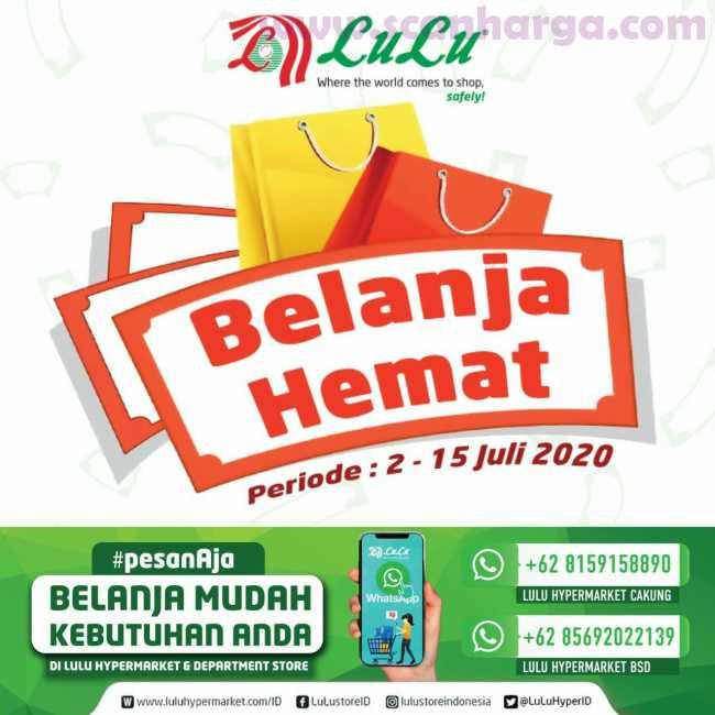 Lulu Hypermarket Katalog Belanja Hemat Terbaru Periode 2 - 15 Juli 2020 1