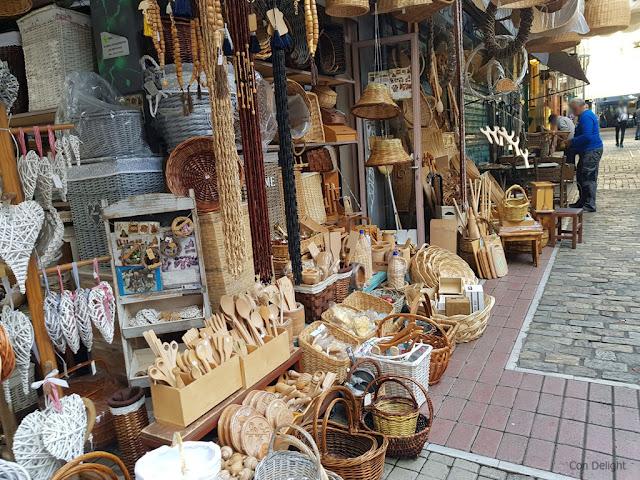 כלים מעץ, שוק סלוניקי