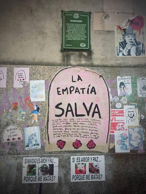 Graffiti in Montevideo, Uruguay