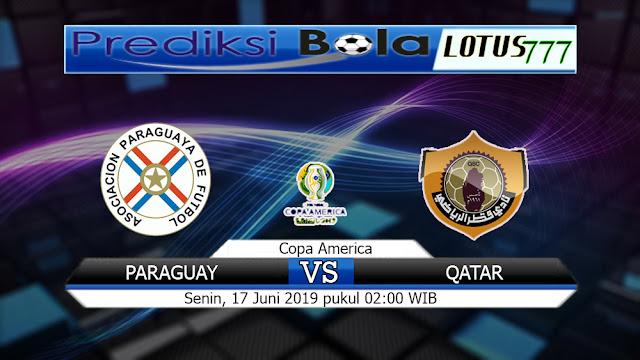 PREDIKSI PARAGUAY VS QATAR SENIN 17 JUNI 2019