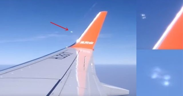 Plane Passenger films UFO that split into pairs above Thailand