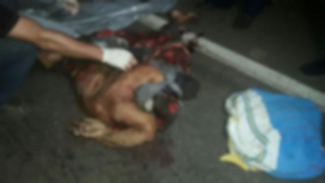 Após sair de bar bêbado gritando que ia se matar, homem morre estraçalhado por carreta na 🔴 BR 364 IMAGENS BRUTAIS 🔴
