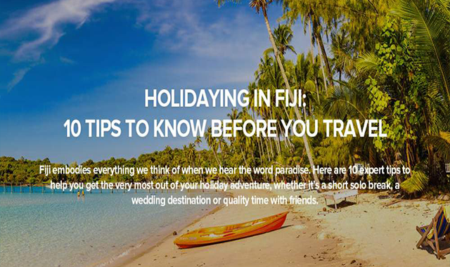 Top 10 Travel Tips For Exploring Fiji