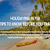 Top 10 Travel Tips For Exploring Fiji #infographic