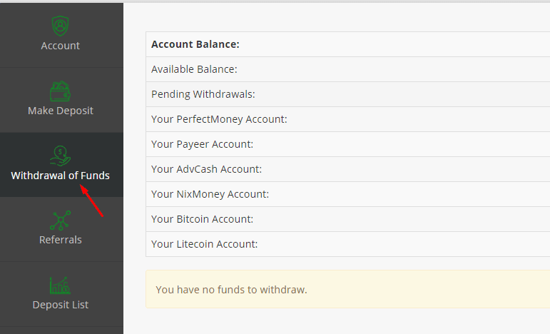 Регистрация в Investiego 5