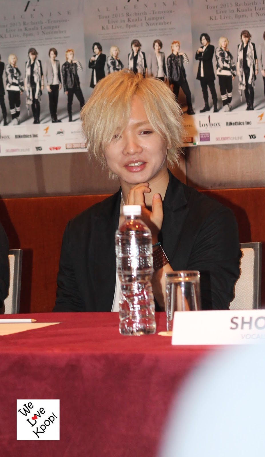 We Love Kpop!: [Press Conference] Alice Nine Tour 2015 Re
