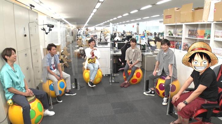 Arashi Berbincang Dengan Eiichiro Oda di Acara Arashi Tsubo