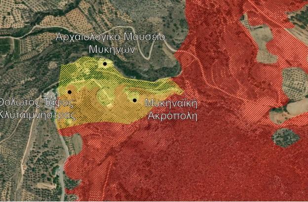 Νέα δεδομένα για την πυρκαγιά στις Μυκήνες - Κάηκαν συνολικά 1.140 στρέμματα (χάρτες)