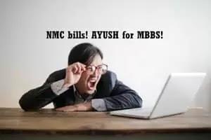 NMC bills AYUSH for MBBS