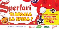 Logo ''Vinci la spesa con Sperlari'': ricevi buoni spesa sicuri da 5€