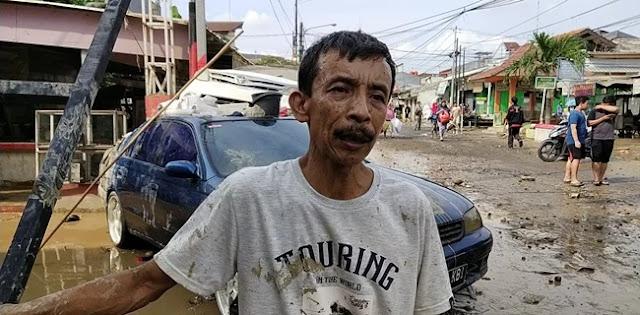 Korban Banjir Setinggi 8 Meter Ngeluh Ridwan Kamil Hanya Pantau Lewat Udara