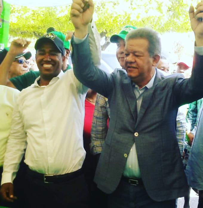 PICHÓN RECIBE APOYO DE LEONEL FERNANEZ. ASEGURA GANARÁ LAS ELECCIONES MUNICIPALES EN VILLA CENTRAL