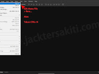 Belajar Photoshop #08 - Membuat Dokumen Baru di Adobe Photoshop