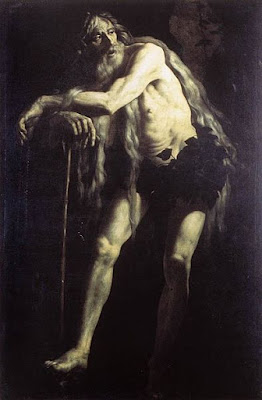 St. Onophrius by Battistello Caracciolo, painting in 1625