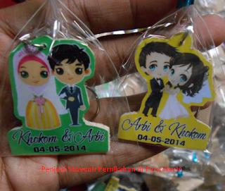 Penjual Souvenir Pernikahan di Purwokerto