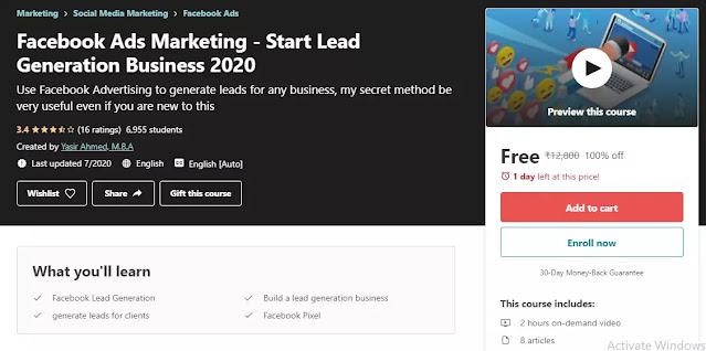 Facebook Ads Marketing 2020