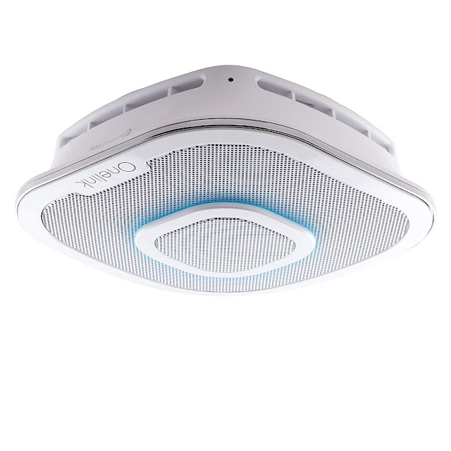 Alexa Enabled Smoke Detector