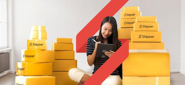 Perusahaan Startup Shipper Solusi Permasalahan Online Shop