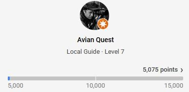 AvianQuest Google Guide Level 7