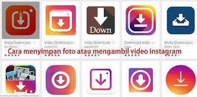 Bagaimana cara menyimpan foto atau video instagram agar tersimpan ke gallery smartphone Cara menyimpan foto atau video instagram ke gallery smartphone