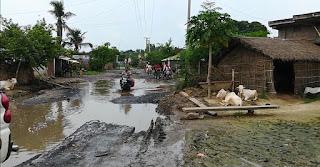 DM-madhubani-inspect-madhubani-roads