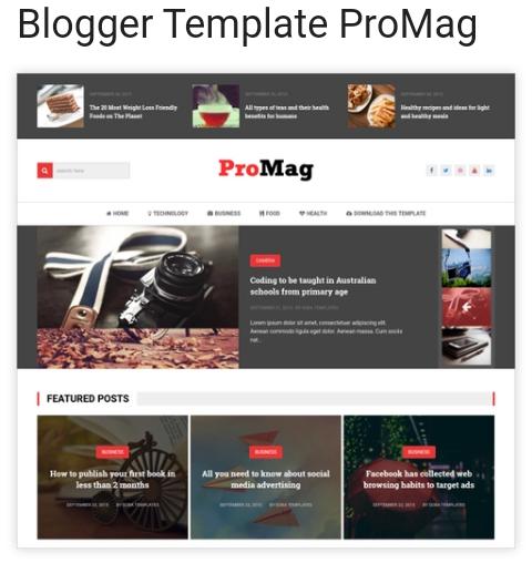 15+ Unduh Template Blogger Cantik Secara Gratis