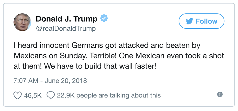 [Obrazek: Trump_Tweet_Mexiko_Deutschland.jpg]