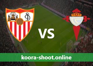 بث مباشر مباراة سيلتا فيغو واشبيلية اليوم بتاريخ 12/04/2021 الدوري الاسباني