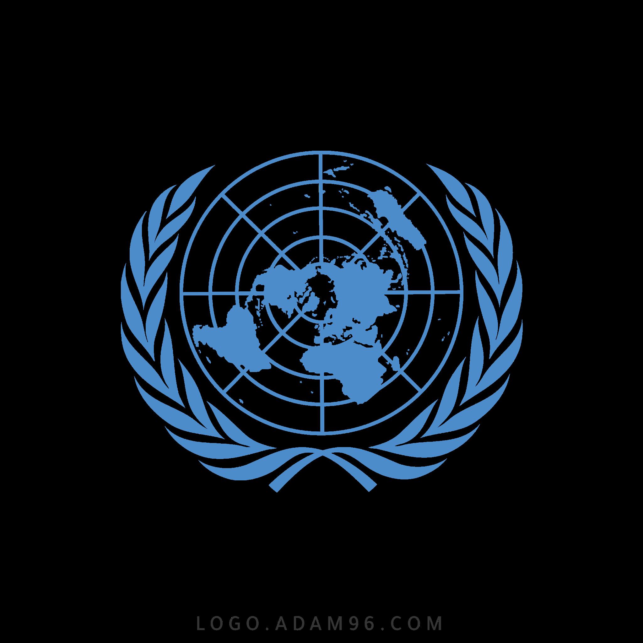 تحميل شعار الأمم المتحدة لوجو رسمي عالي الجودة PNG