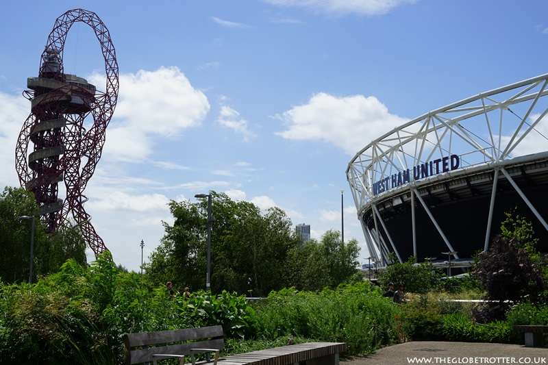 Queen Elizabeth Olympic Park in London