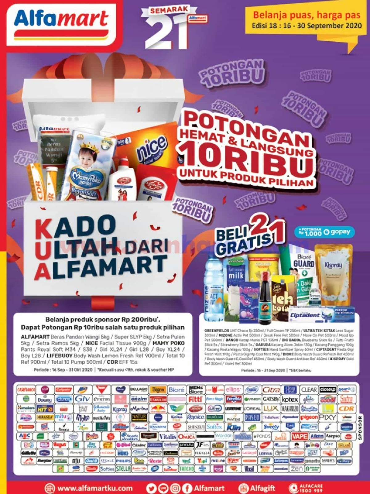 Katalog Promo Alfamart 16 - 30 September 2020 1