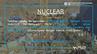 Teknologi Nuklir Sebagai Tracer di Industri Pertambangan Chile