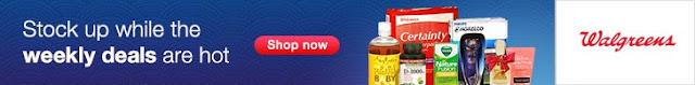 Walgreens Weekly Online Deals