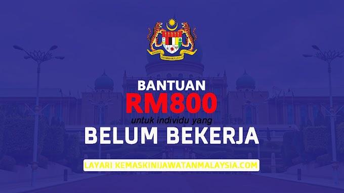 Program Perantisan : Bantuan RM 800 Kepada Individu Belum Bekerja