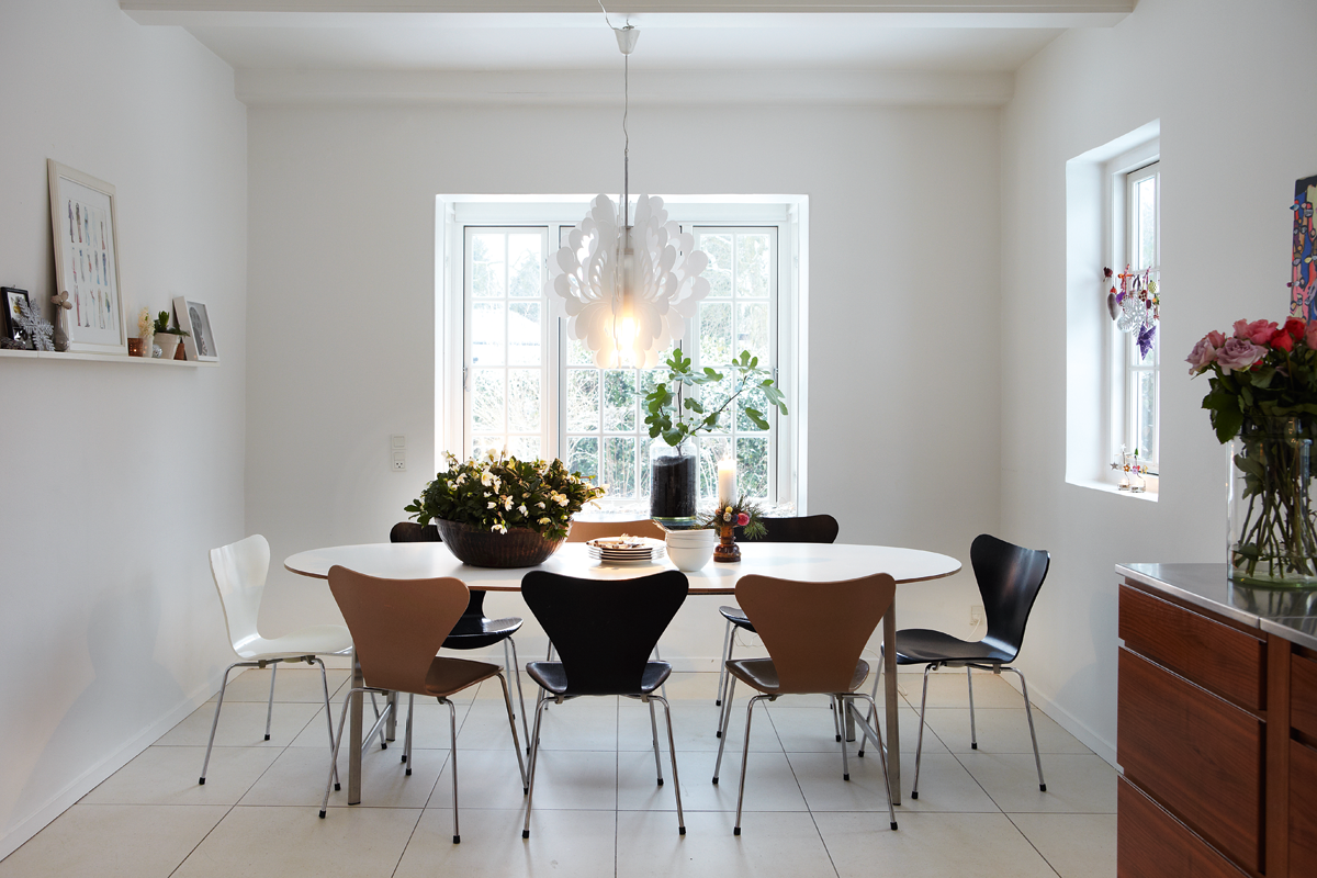 Danish Kitchen Table And Chairs