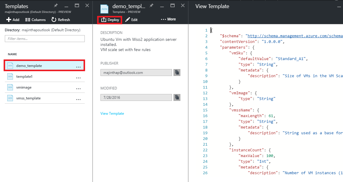 Auto Scaling for WSO2 Application Server deployed in Azure