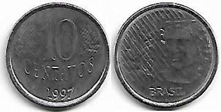 10 centavos, 1997