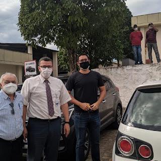 Josa da padaria visita Hospital Regional de Guarabira e comemora reformas na unidade Hospitalar