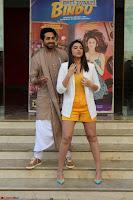 Parineeti Chopra with Ayushmann Khurrana at the Launch of Trailer of Meri Pyaari Bindu 024.JPG