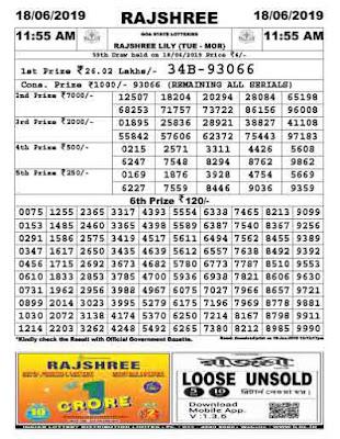 rajshree lottery today result, rajshree lottery, goa state lottery, goa lottery, ildl, today result goa lottery, goa state lottery, ildl today result, raj shree lottery today