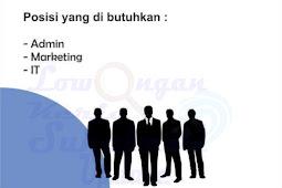 Lowongan Kerja CV UI Indomarket