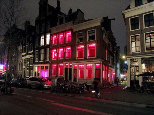 Amsterdam Red Light District Photos Beauty Place