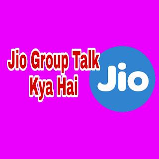 What is jio talk