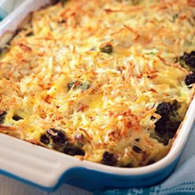 Broccoli, Beef & Potato Hotdish