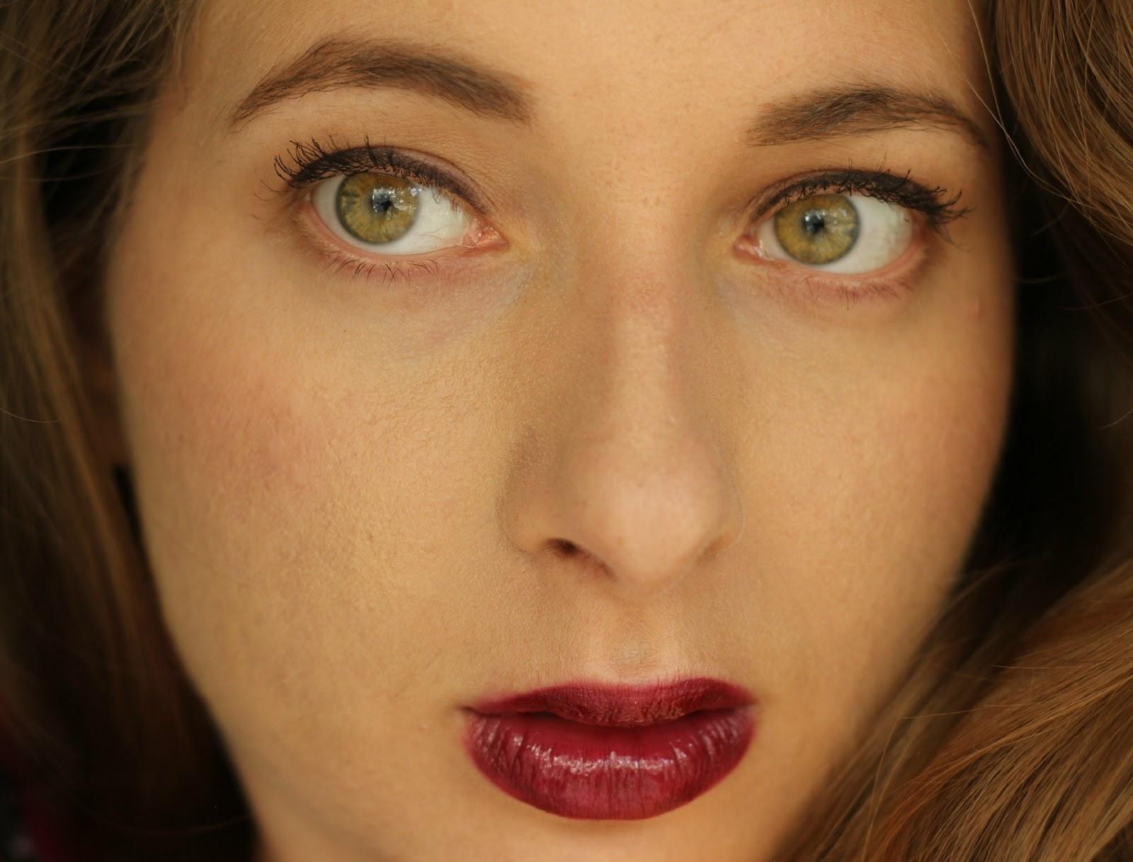 Lipstick over lips