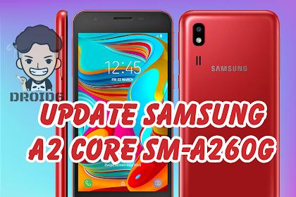 Update Firmware Samsung A2 Core SM-A260G