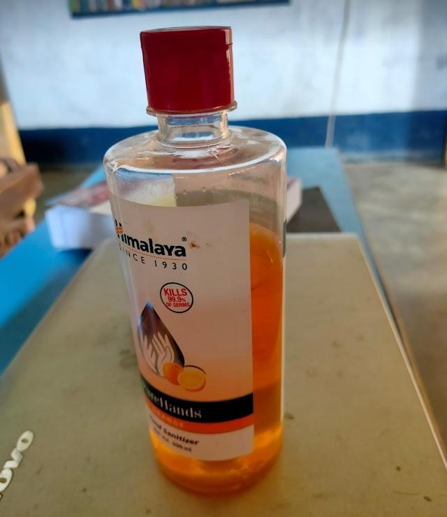 Himalaya Pure Hands | Best Hand Sanitizer for Coronavirus - 500 ml (Orange) under ₹200