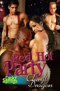 Red Hot Party by Cheryl Dragon