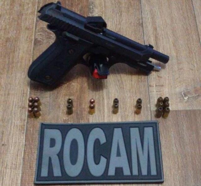 Homem é preso por porte ilegal de arma em Ubiratã